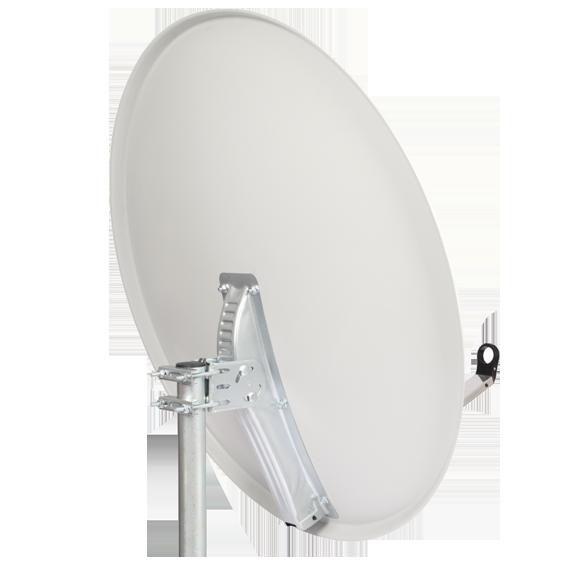 Sat. Antena 120cm, Triax leđa i pribor, boja Light Gray