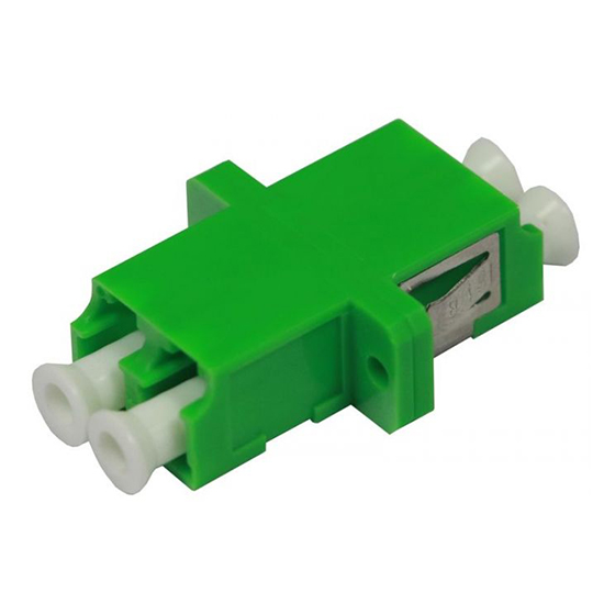 ADAPTER LC/APC SM DX ZR GREEN