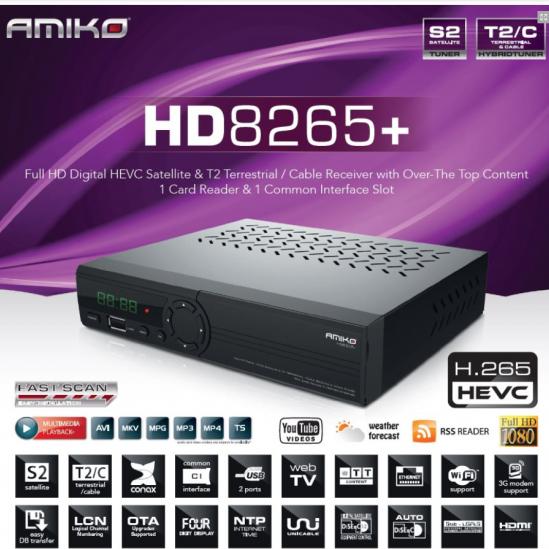 RISIVER AMIKO HD-8265+