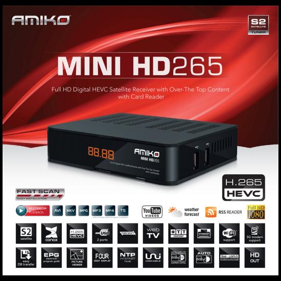 Mini HD265 Amiko