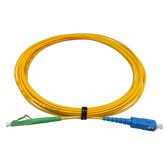 Patch cord SC/PC-LC/APC SX SM 2m 2,00mm