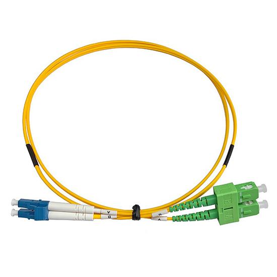 Patch cord SC/APC-LC/PC DX SM 5m 2,00mm