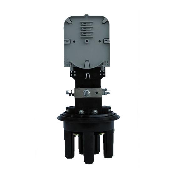 Optička spojnica GPJ-D – 4 ports, 2 splice trays, 24 splices